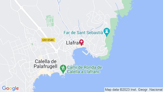 Hotel Llafranch Map