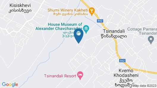 Radisson Collection Hotel, Tsinandali Estate Georgia Map