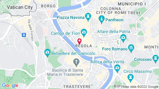 Hotel Residenza in Farnese Map