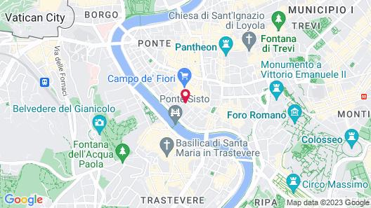 Habitat's Campo di Fiori Apartments Map