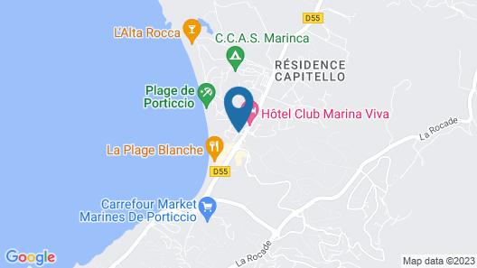 Hotel Club Marina Viva Map