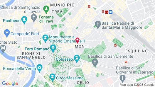 FH55 Grand Hotel Palatino Map