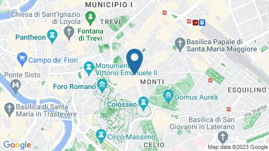 B&B SubUrbe Roma Map