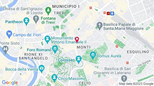 Hotel Duca d'Alba Map