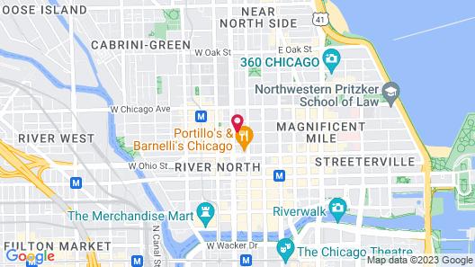 The Godfrey Hotel Chicago Map