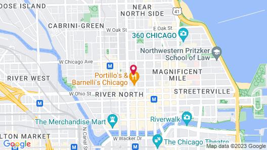 Hotel Felix Chicago Map
