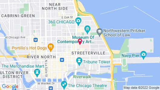 Homewood Suites by Hilton Chicago Downtown/Magnificent Mile Map
