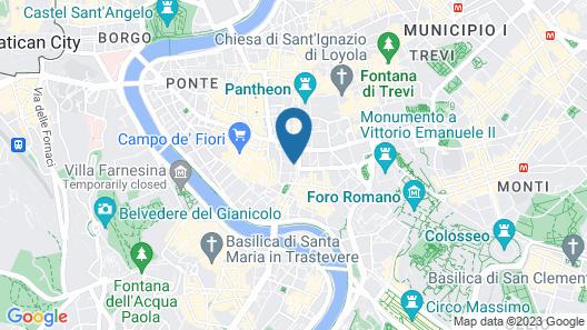 Hotel dei Barbieri Map