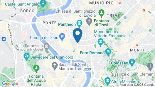 Argentina Residenza Style Hotel Map