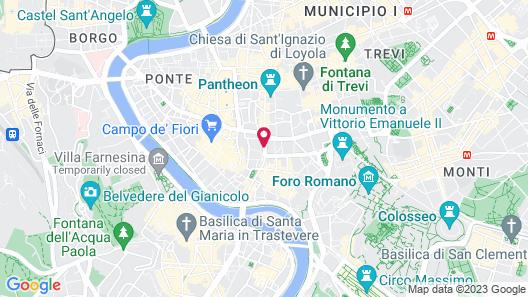 Torre Argentina Relais Map