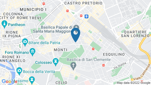 Tirreno Hotel Map