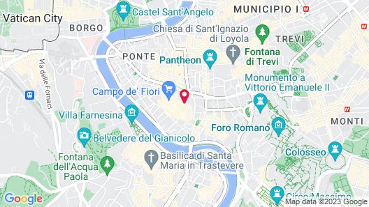Hotel Teatro di Pompeo Map