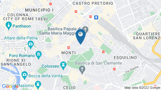 New Generation Hostel Rome Center Map