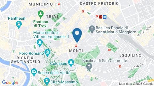 Monti Palace Hotel Map