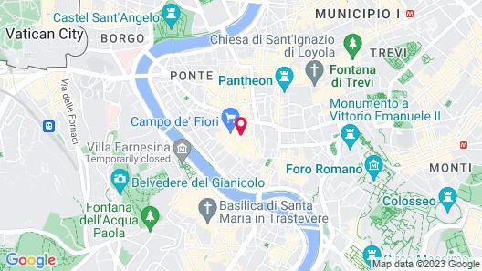 Boutique Hotel Campo dé Fiori Map