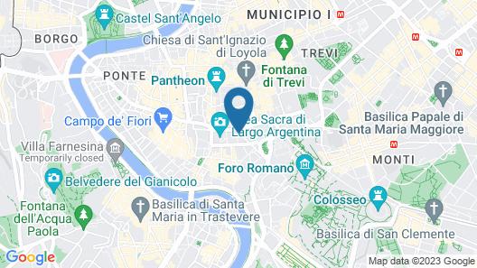 Piazza del Gesù Luxury Suites Map