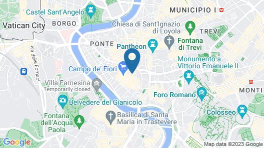 Hotel Lunetta Map