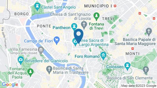 Best Pantheon B&B Map