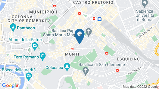 Hotel Colosseum Map