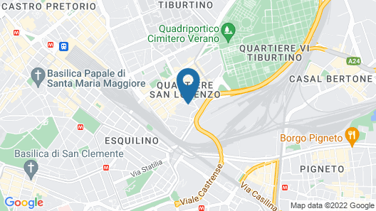 Foresteria Roma Map