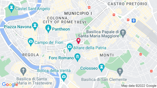 Traiano Hotel Map