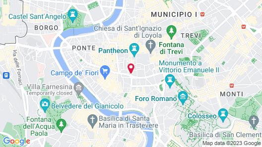 Terrace Pantheon Relais Map