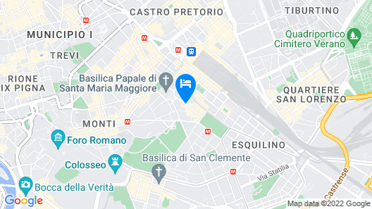 Rome To Stay Map