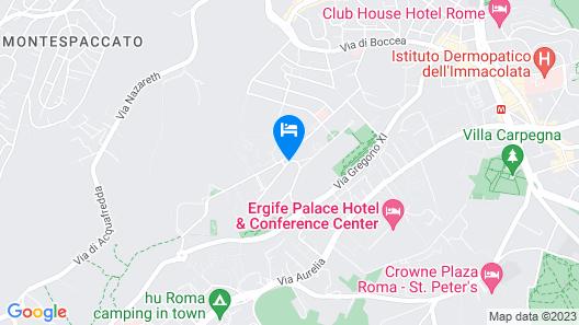 Bellambriana Hotel Map