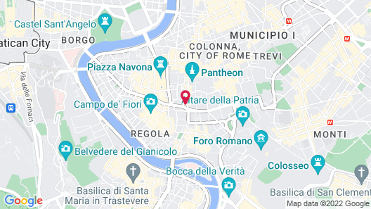 Exe Hotel della Torre Argentina Map