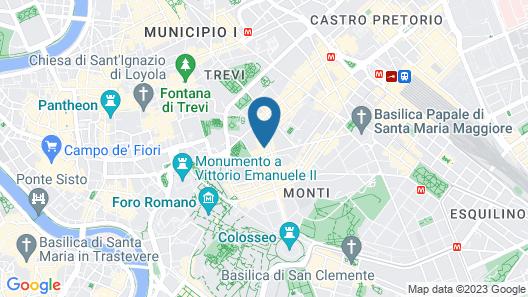 Condominio Monti Boutique Hotel Map