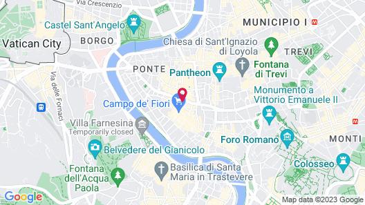 Damaso Hotel Map