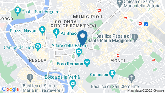 Hotel Cosmopolita Map