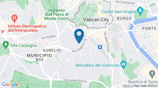 Hotel Il Cantico St.Peter Map