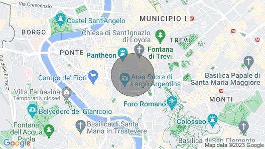 Casa Pigna - Your Private Jacuzzi and Sauna at Pantheon Map