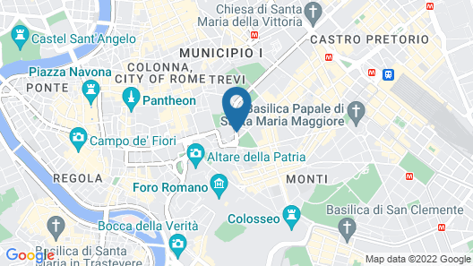Hotel Hiberia Map