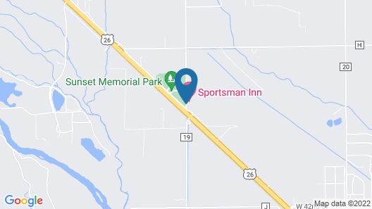Sportsman Inn Motel Map