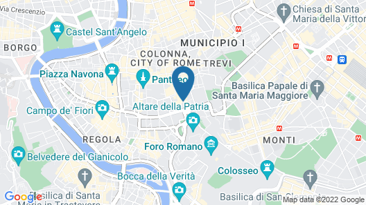 Corso 281 Luxury Suites - Preferred Hotels & Resorts Map