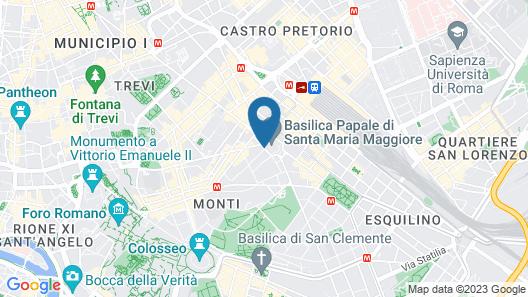 Antico Palazzo Rospigliosi Map