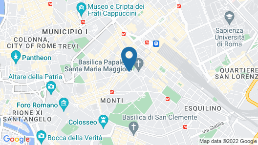 Hotel Verona-Rome Map