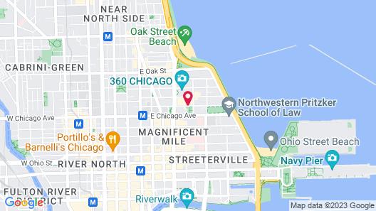 The Ritz-Carlton, Chicago Map