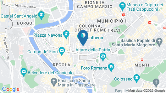 Grand Hotel De La Minerve Map
