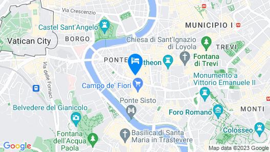 Cancelleria Comfort Inn Map