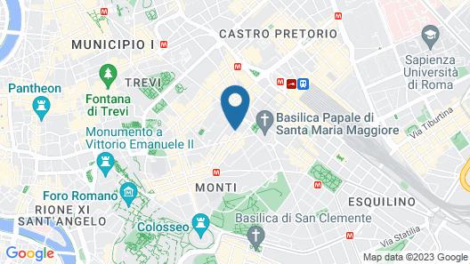 Aenea Superior Inn Map