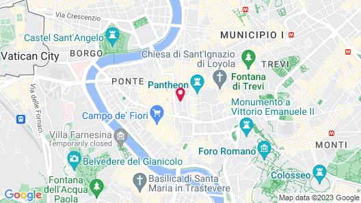 Hotel Navona Map