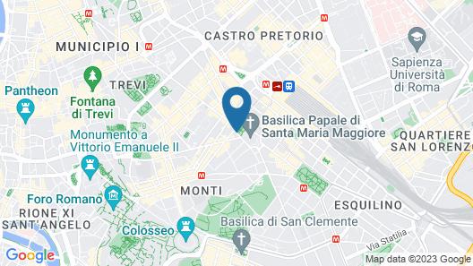 Princeps Boutique Hotel Map