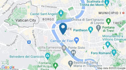 Cortile Banchi Vecchi Map