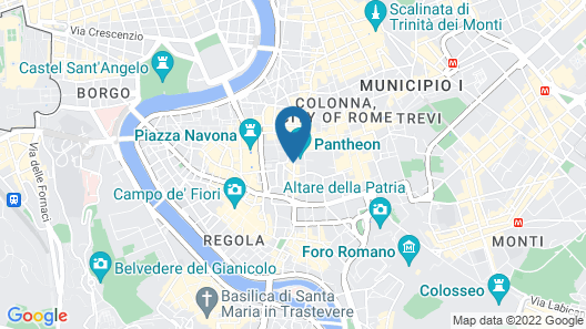 The Pantheon Iconic Rome Hotel, Autograph Collection Map