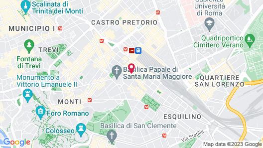 Hotel Contilia Map