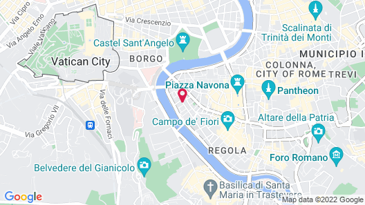 Hotel Indigo Rome - St. George Map
