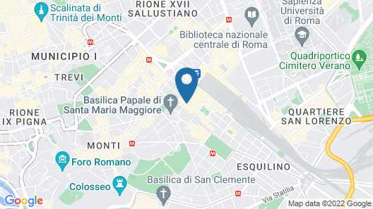 Hotel Palladium Palace Map